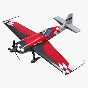 3D model extra 330 race aircraft