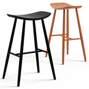 hatton bar stool 3D model