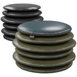 3D table - pouf sede