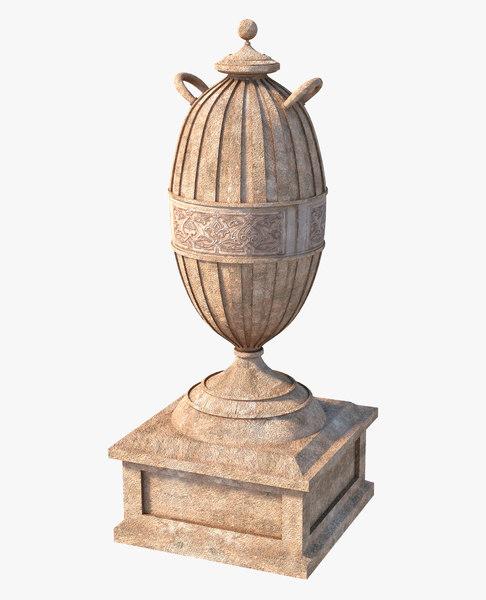 3D model urn classic