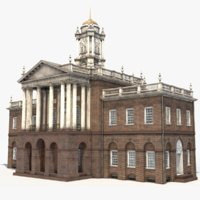 old state house connecticut 3D model