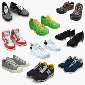 sneakers 5 3D model