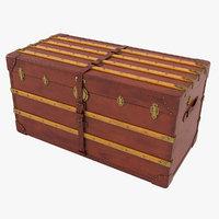 19th trunk hofmann brass 3D model