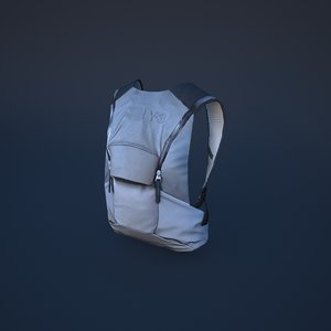 backpack bag 3D model
