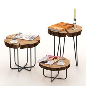 coffee table slab model
