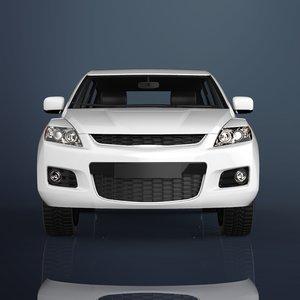 luxury car materials 3D model