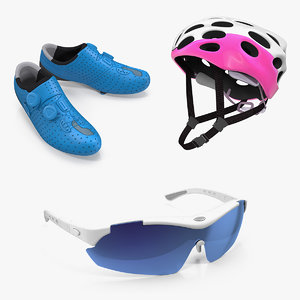 bike protection accessories 3D model
