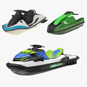 personal water crafts 3D