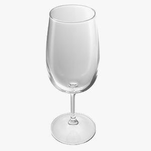 white wine glass model