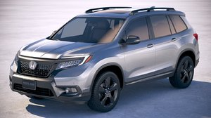 honda passport 2019 3D model