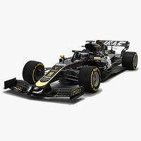 Haas F1 VF-19 Formula 1 Season 2019