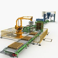 3D packaging machine line