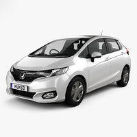 honda fit jp-spec 3D model