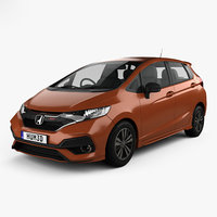 3D honda fit rs