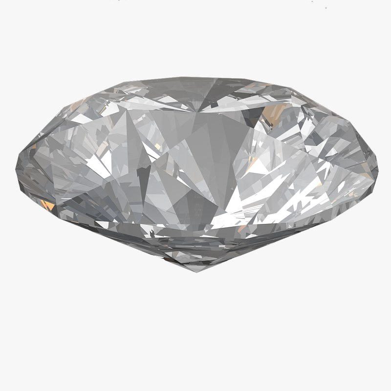 3D model diamond brilliant
