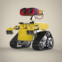 robot materials 3D
