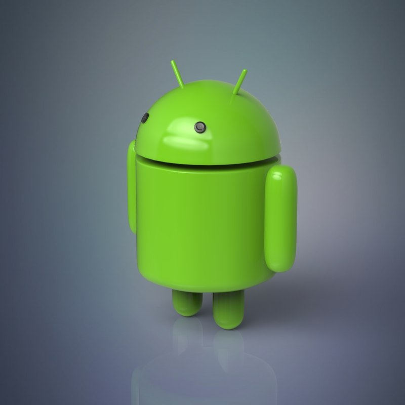 3D model android robot character