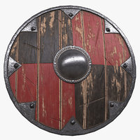 shield armor 3D