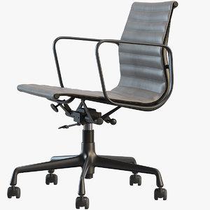 aluminium chairs ea 3D model