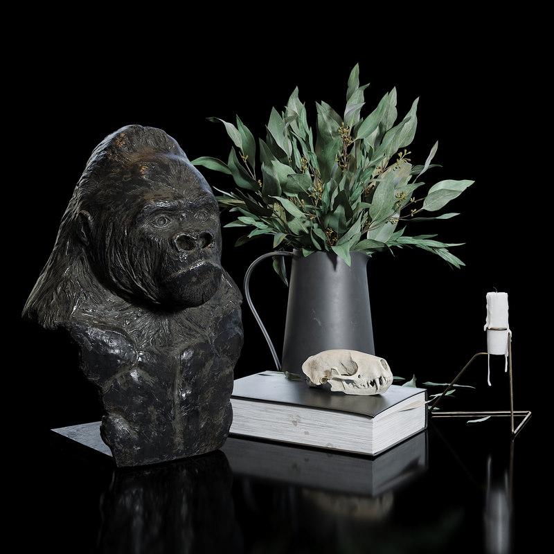 figurine sculpture model