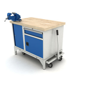 mobile workbench 3D model