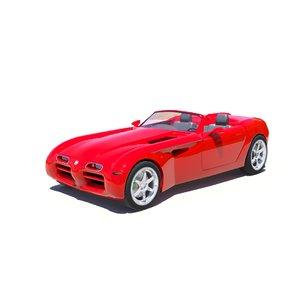 dodge concept cars 3D