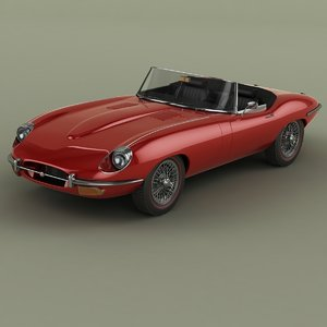 3D e-type series 2 convertible