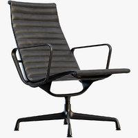 vitra aluminium chair 3D model