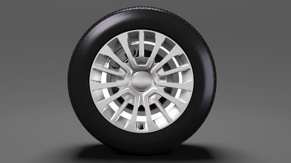 toyota proace van wheel 3D model