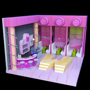3D night club