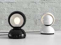 eclisse table lamp artemide 3D