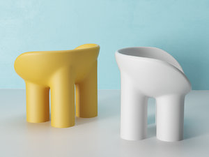 3D roly-poly chair model