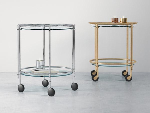 3D model riki trolley