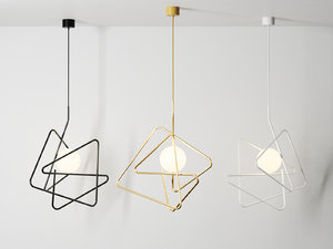 inciucio pendant lamp 3D model