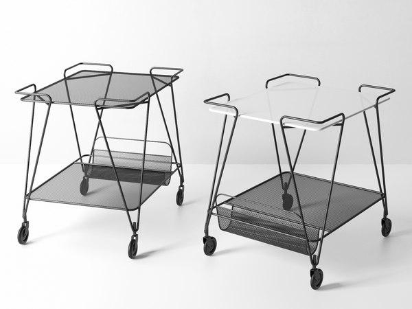 3D mategot trolley