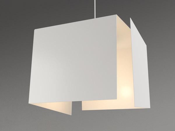 destructuree pendant lamp 3D model