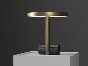 calee table lamp 3D