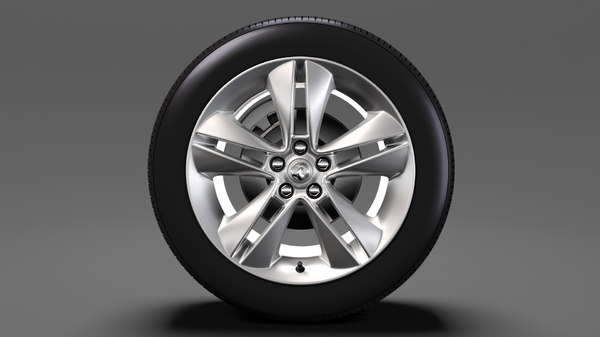 vauxhall combo tour wheel 3D model