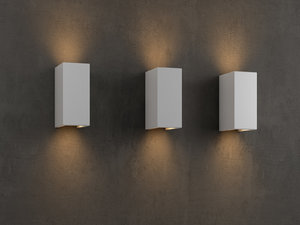parma 160 wall light 3D model