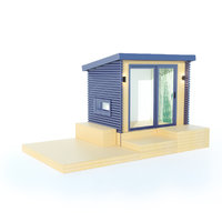 backyard office 3D model