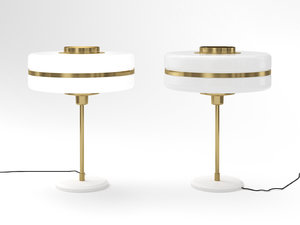 3D masina table lamp model