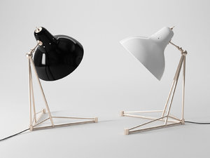 3D diana table lamp model