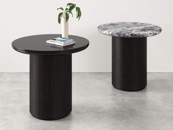 moon lounge table gubi 3D model