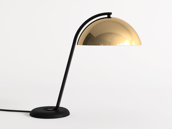 cloche table lamp 3D
