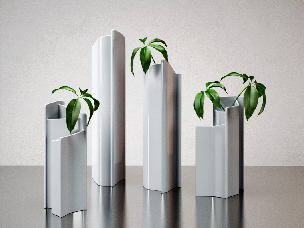 3D cells vase model