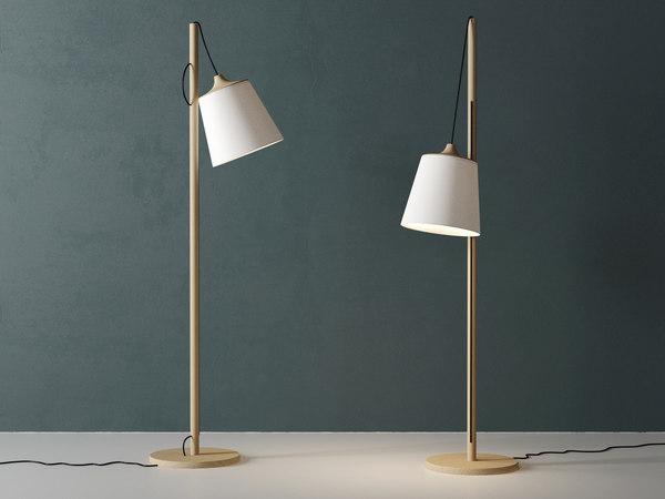 3D model pull floor lamp