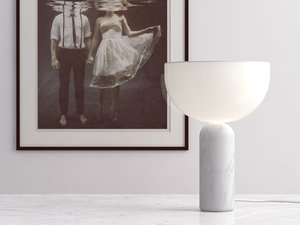 3D kizu table lamp small