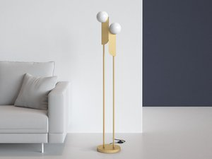 bower floor lamp 3D model