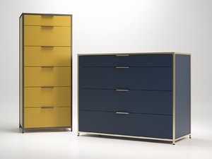 dita chest drawers 3D