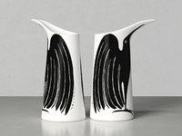 les oiseaux mini vase 3D model